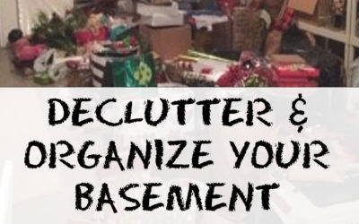 Organize Your Basement   Using Simple Tips